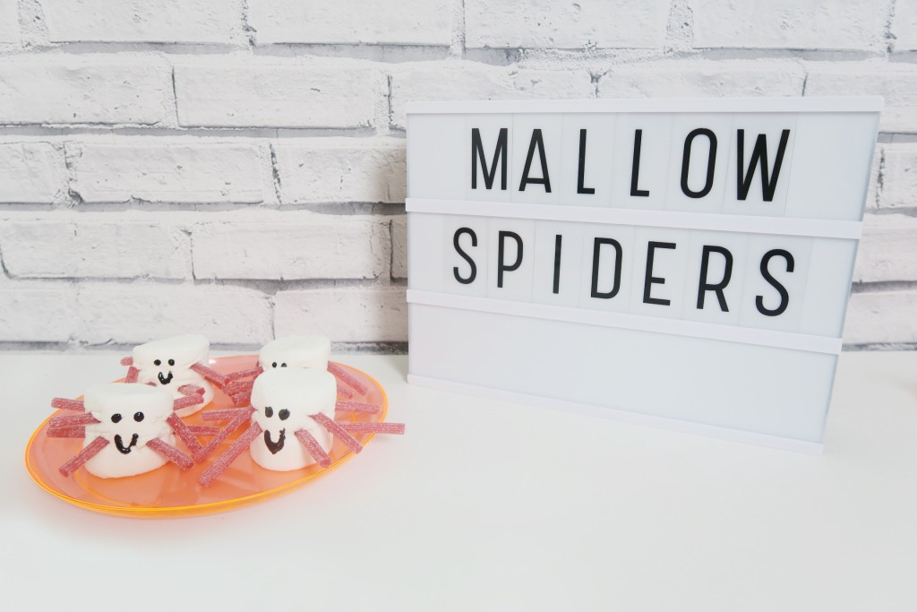 halloweenspidermarshmallows