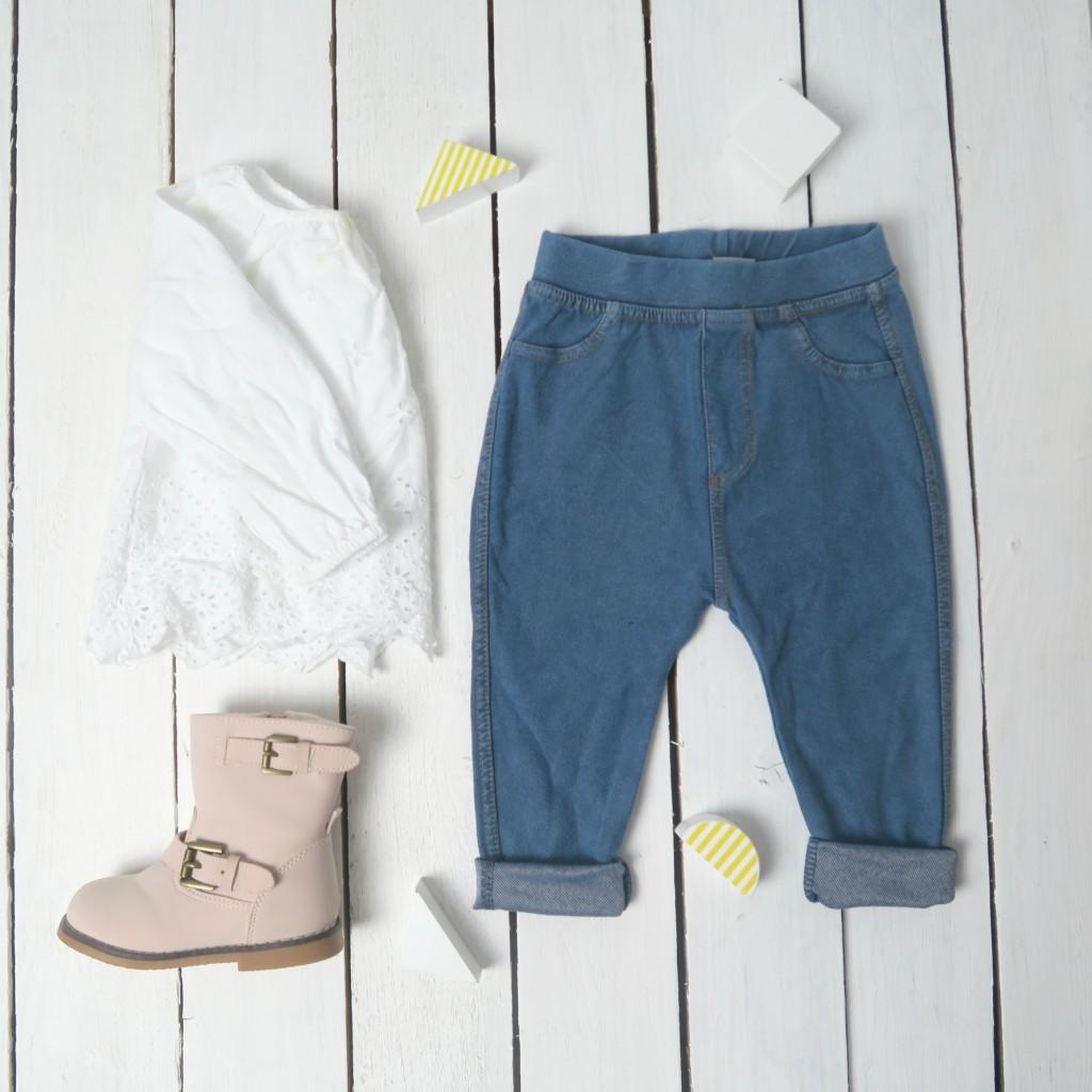 baby fashion flat lay next baby gap hm