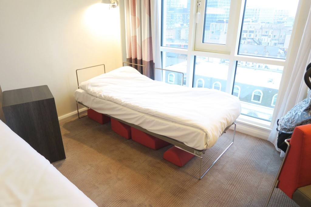 Novotel London Blackfriars bed