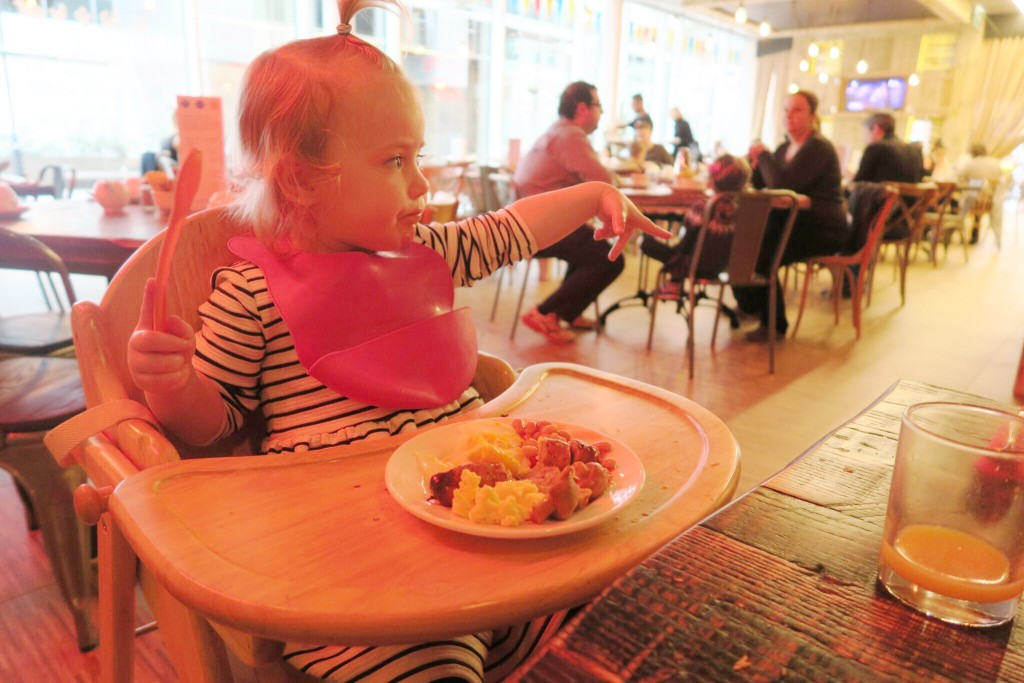 Novotel London blackfriars review toddler breakfast