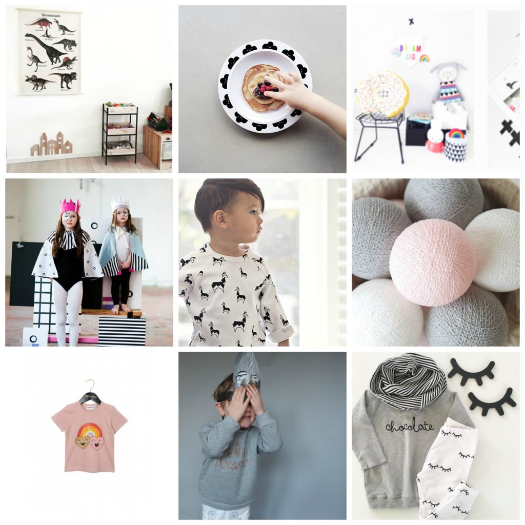 best kids instagram shops