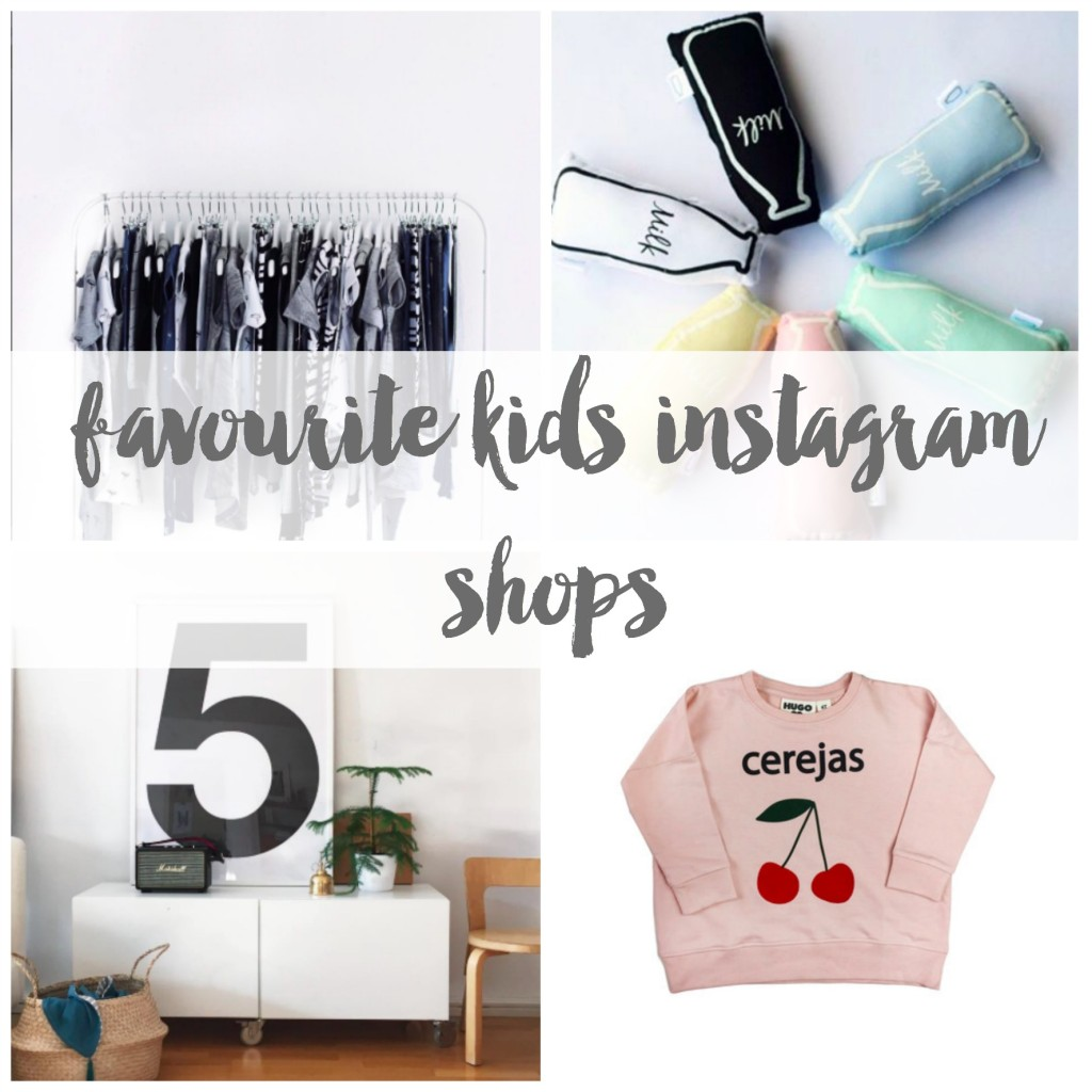 favourite kids instagram shops