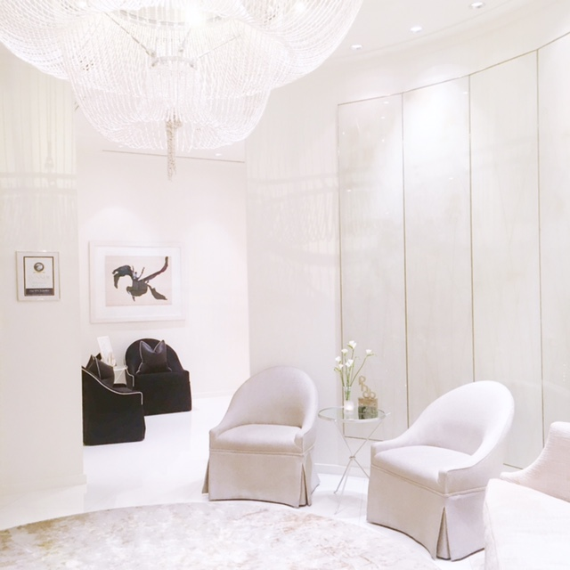 dorchester spa chandelier