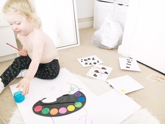 toddler art work