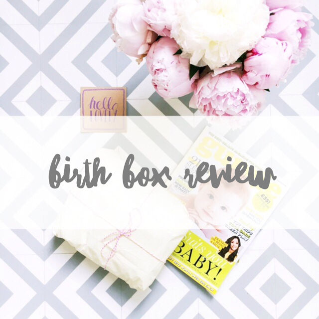 birth gift box review