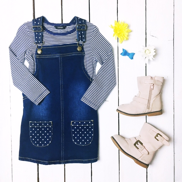 kids fahsion flat lay weekend tot style