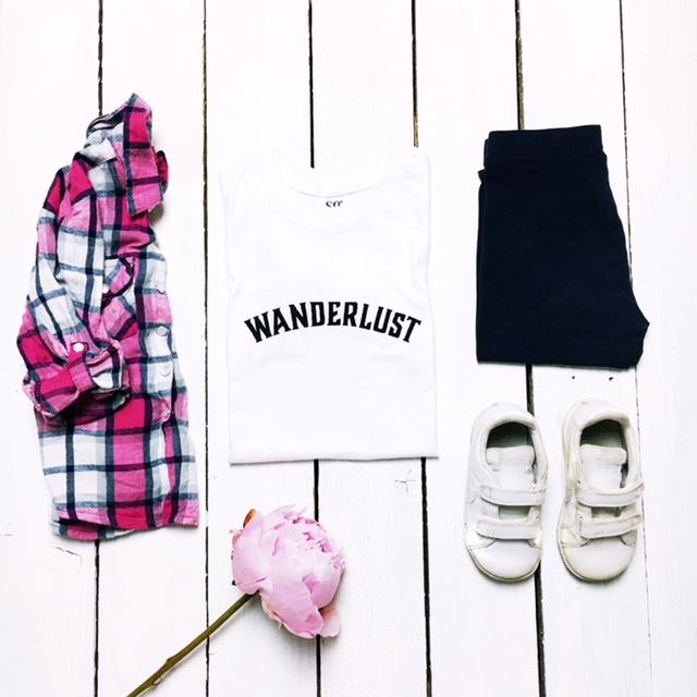 primark wanderlust next nike kids fashion flatlay