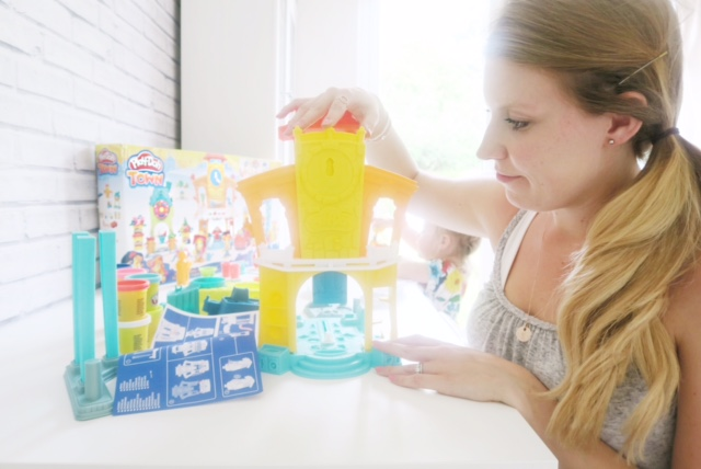 setting up hasbro toy tribe playdoh town review