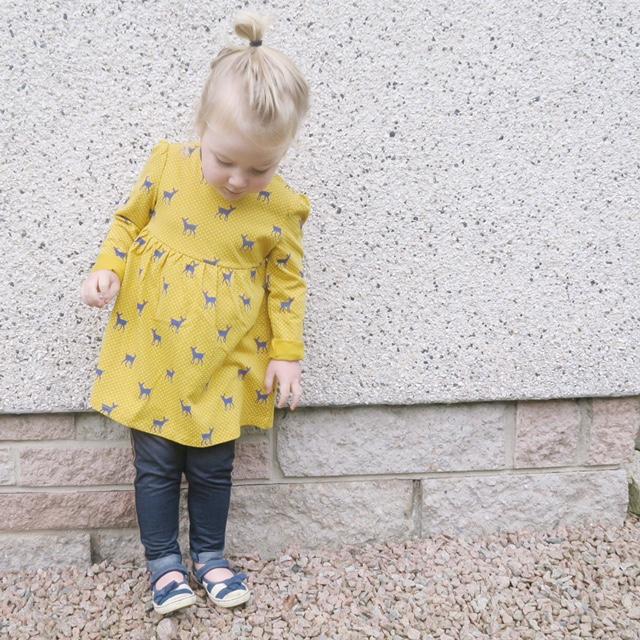 boots mini club print dress