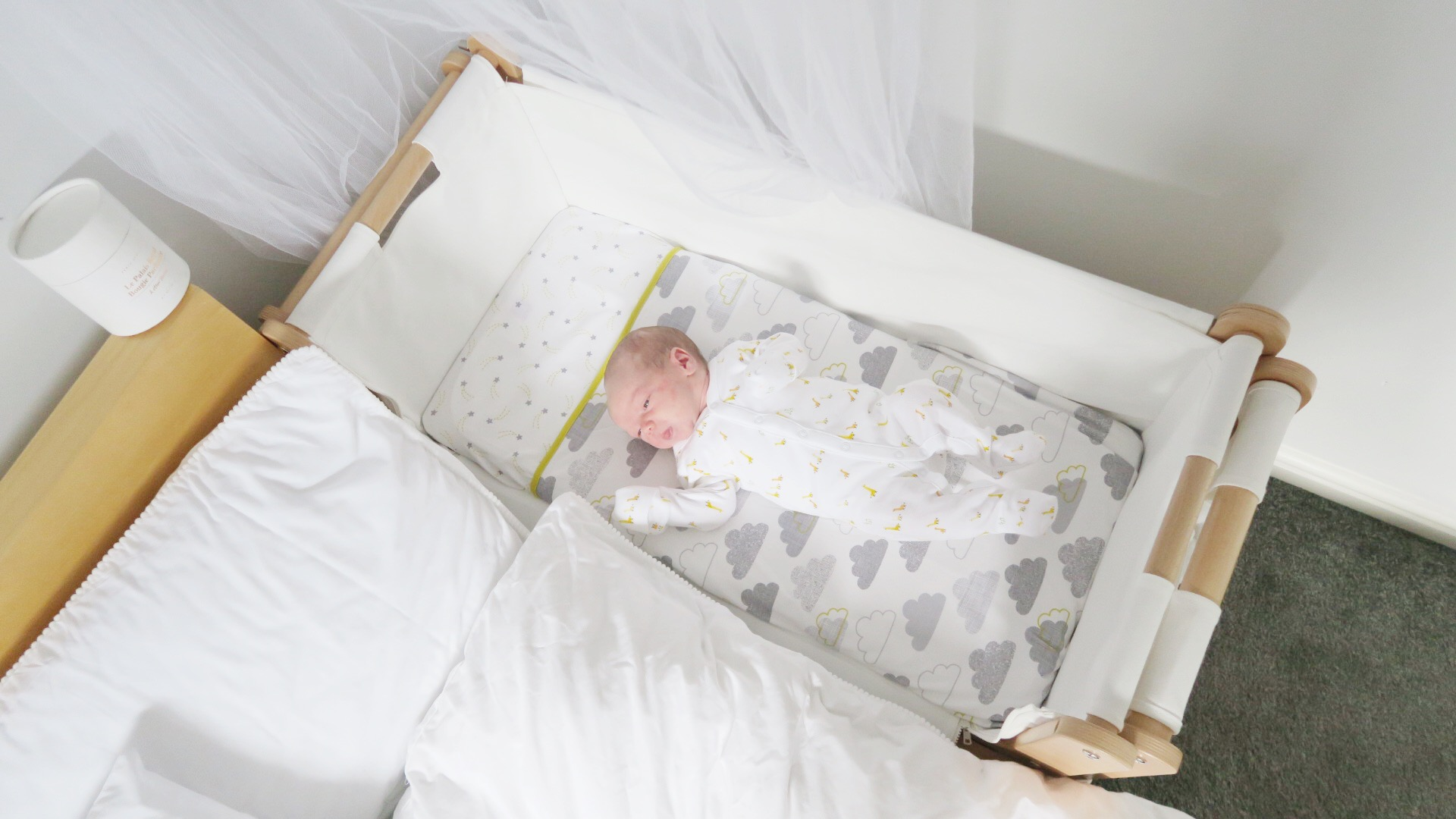 Snuzpod 3 in 1 bedside crib review for Bed 3