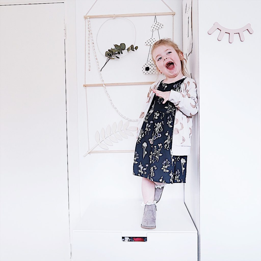 what my kid wore Wednesday toddler outfit h&m beau loves