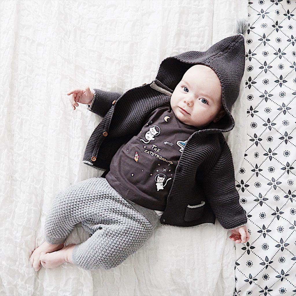 what my kid wore Wednesday baby outfit Zara next hm
