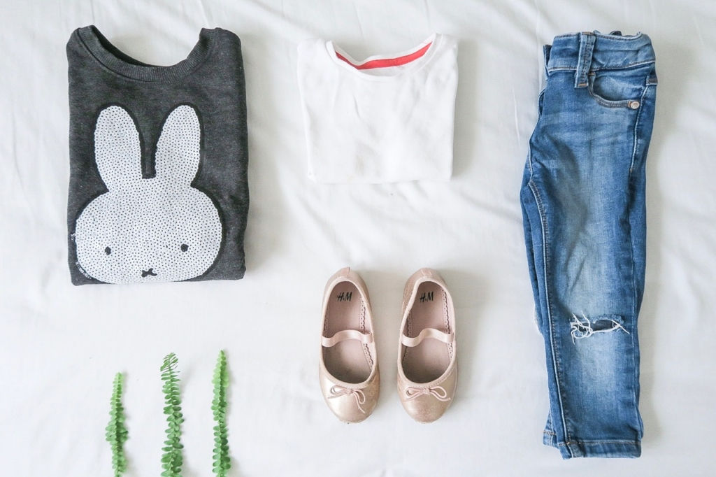 what my kids wore h&m miffy