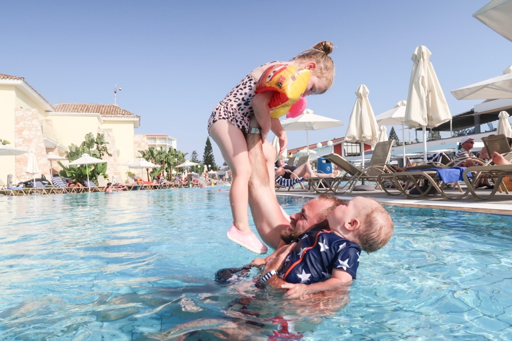 Thomson TUI Family Life Aeneas Resort and Spa by Atlantica - Our family holiday to Cyprus - swimming pool