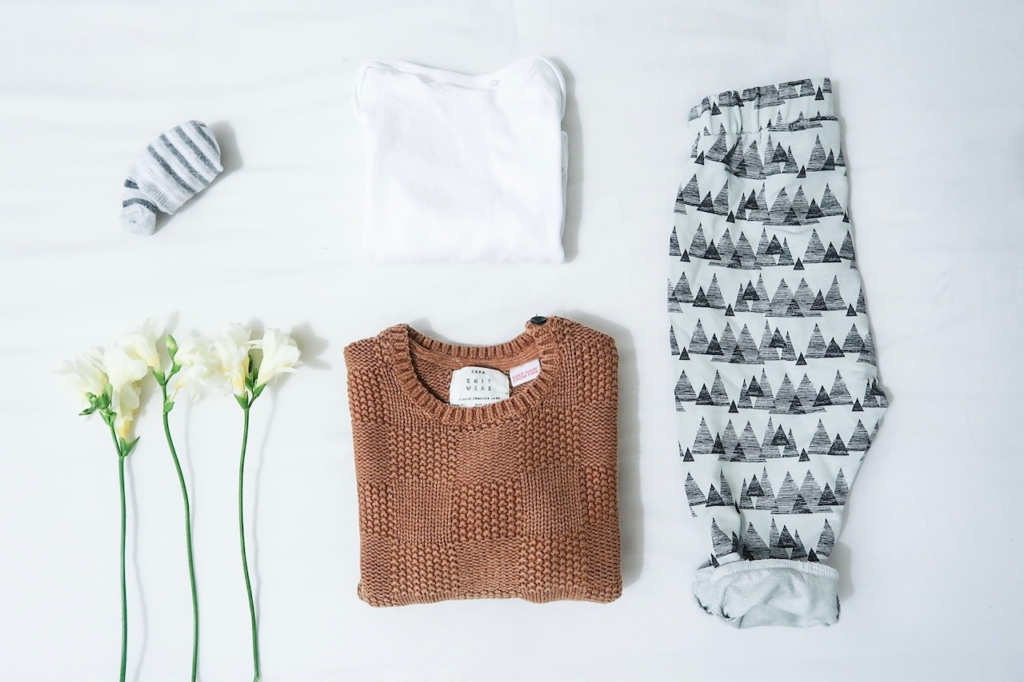 zara boys outfit autumn winter triangle bottoms flatlay