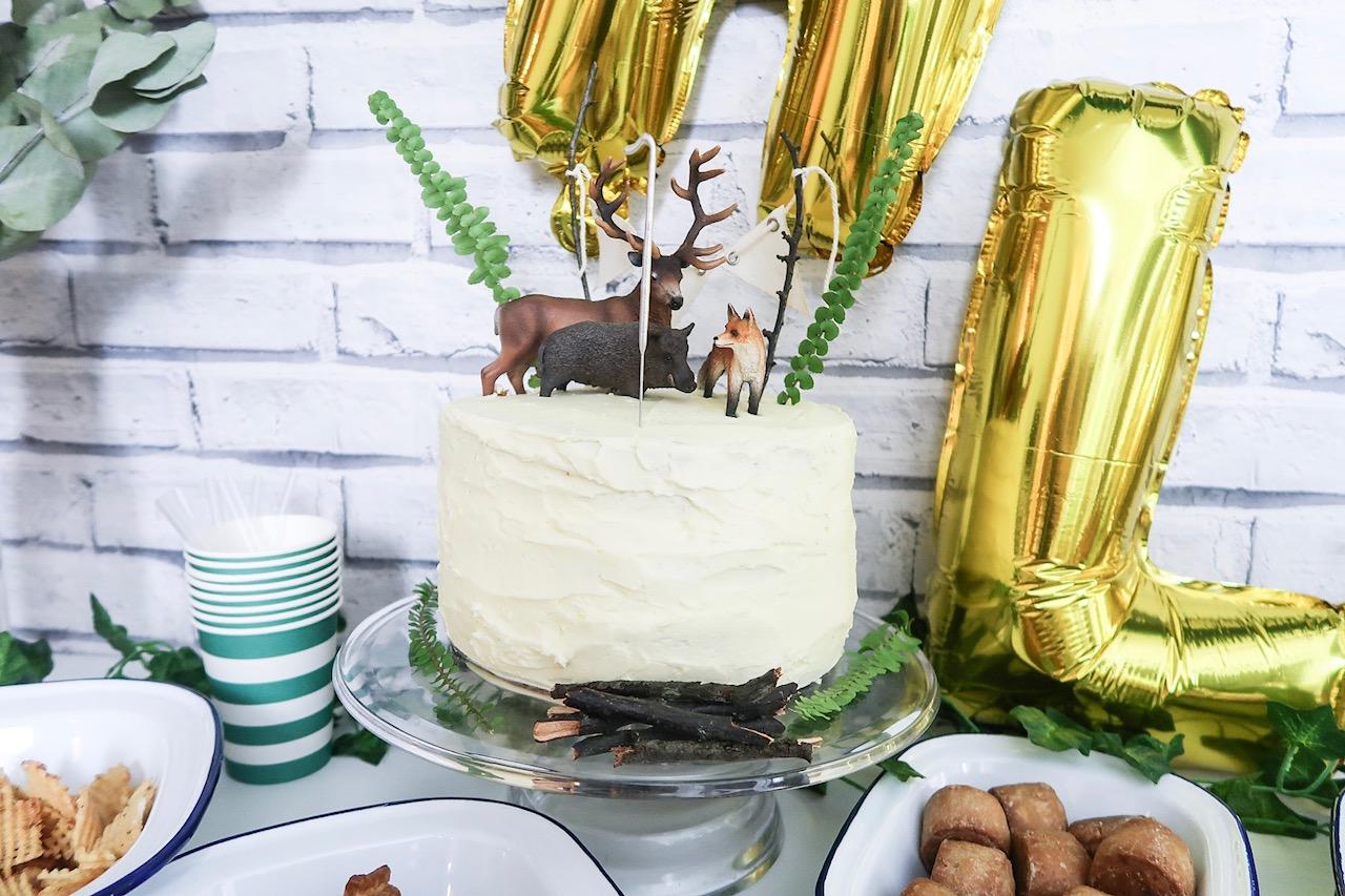 Vegan Dairy Free 1st Birthday Cake