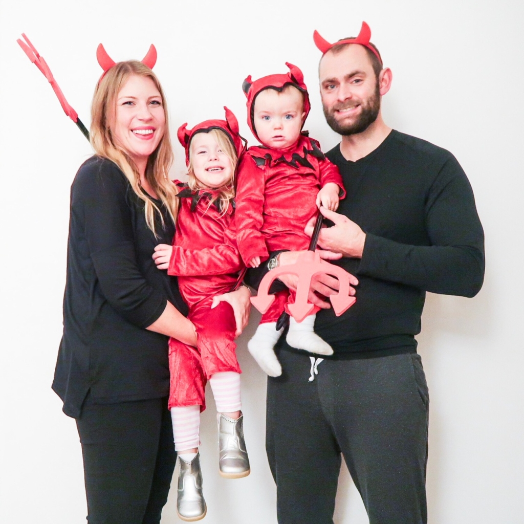 family matching halloween outfits